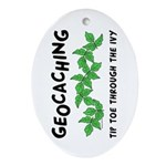 Poison Ivy Oval Ornament