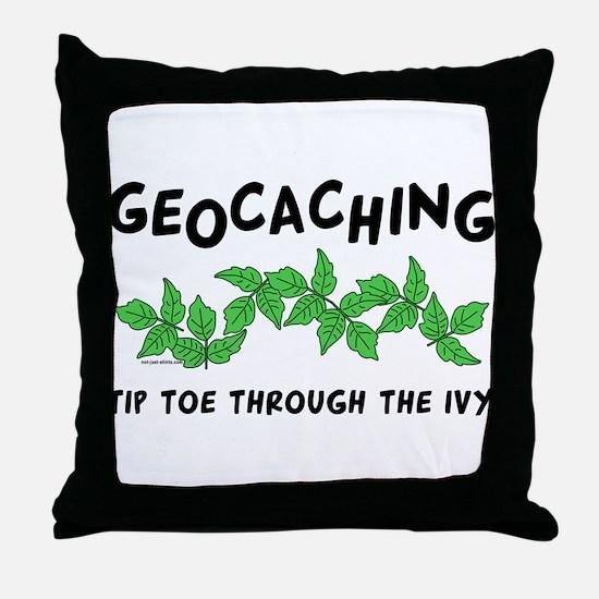 Poison Ivy Throw Pillow