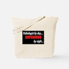 Superhero Pathologist Tote Bag