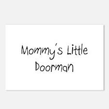 Mommy's Little Doorman Postcards (Package of 8)