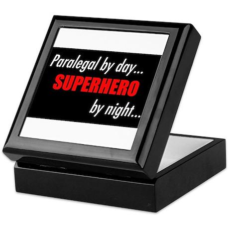 Superhero Paralegal Keepsake Box