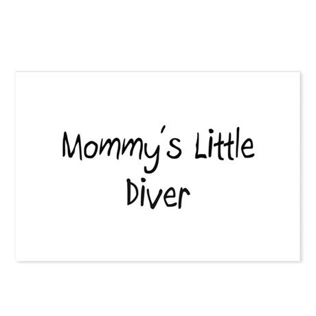 Mommy's Little Diver Postcards (Package of 8)