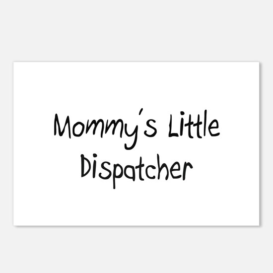 Mommy's Little Dispatcher Postcards (Package of 8)