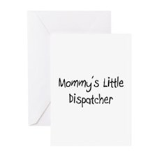 Mommy's Little Dispatcher Greeting Cards (Pk of 10