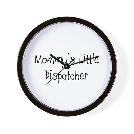 Mommy's Little Dispatcher Wall Clock