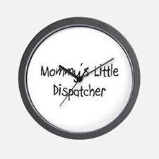 Mommy's Little Dispatcher Wall Clock