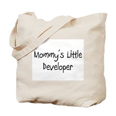 Mommy's Little Developer Tote Bag