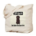 Affenpinscher Wanted Poster Tote Bag