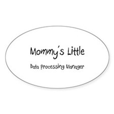 Mommy's Little Data Processing Manager Decal