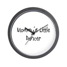 Mommy's Little Dancer Wall Clock