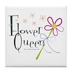 Flower Queen Tile Coaster