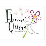 Flower Queen Small Poster