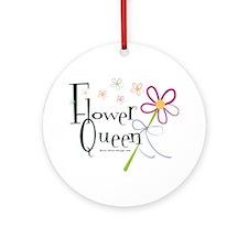 Flower Queen Ornament (Round)