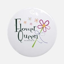 Flower Queen Ornament (Round)