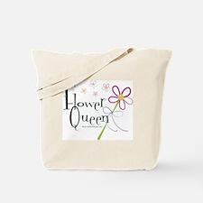 Flower Queen Tote Bag