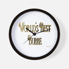 Wold's Best Bubbe Wall Clock