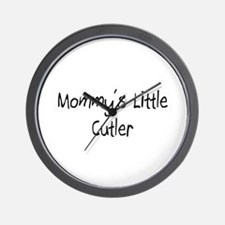 Mommy's Little Cutler Wall Clock