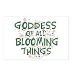 Blooming Things Goddess Postcards (Package of 8)