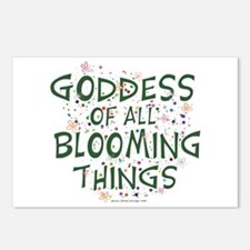Blooming Things Goddess Postcards (Package of 8)
