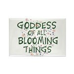 Blooming Things Goddess Rectangle Magnet (100 pack