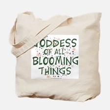 Blooming Things Goddess Tote Bag