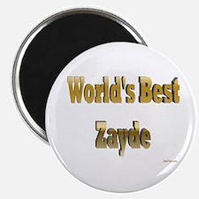 World's Best Zayde Magnet