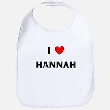 I love Hannah Bib