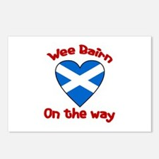 Wee Bairn On the Way Postcards (Package of 8)