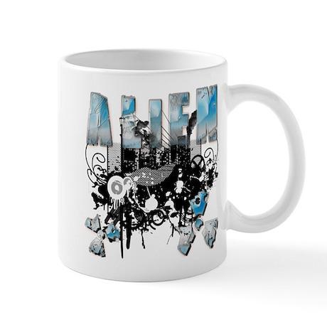 Alien Vector Design 32 Mug