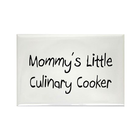 Mommy's Little Culinary Cooker Rectangle Magnet
