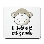 I Love First Grade Mousepad