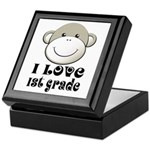 I Love First Grade Keepsake Box