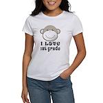 I Love First Grade Women's T-Shirt