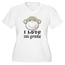 I Love First Grade T-Shirt