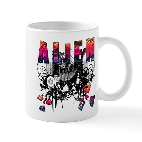 Alien Vector Design 40 Mug