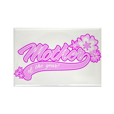 Mother of the Year Rectangle Magnet (100 pack)