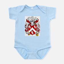 Hewitt Family Crest Infant Creeper