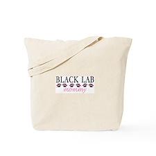 BLACK LAB MOMMY Tote Bag