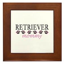RETRIEVER MOMMY Framed Tile