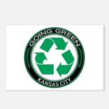 Going Green Kansas City Recycle Postcards (Package