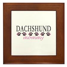 DACHSHUND MOMMY Framed Tile