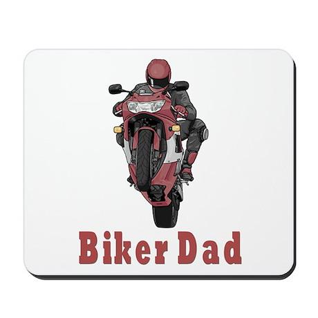 Motorcycle Dad Mousepad