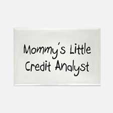 Mommy's Little Credit Analyst Rectangle Magnet