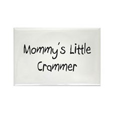 Mommy's Little Crammer Rectangle Magnet