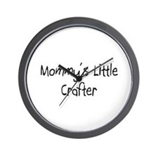 Mommy's Little Crafter Wall Clock
