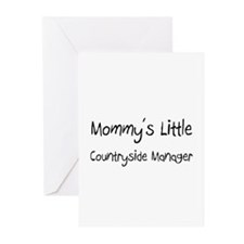 Mommy's Little Countryside Manager Greeting Cards