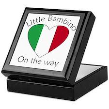 Little Bambino On the Way Keepsake Box