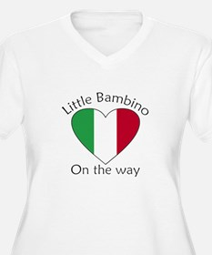 Little Bambino On the Way T-Shirt