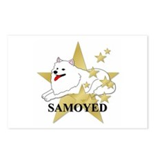 Samoyed Stars Postcards (Package of 8)