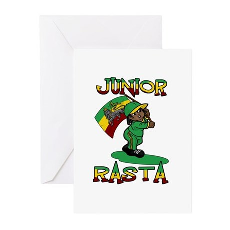 Junior rasta! Greeting Cards (Pk of 10)